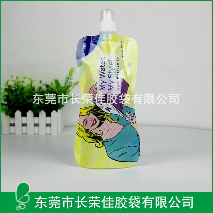 异型矿泉水饮料瓶型吸嘴袋