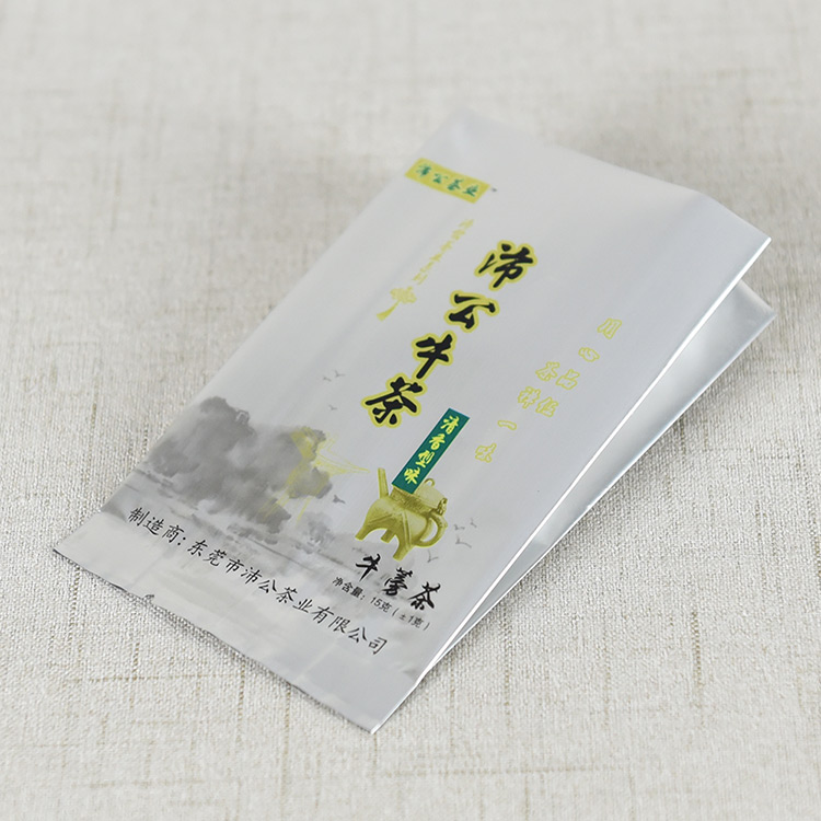 茶叶包装袋——茶叶侧风琴铝箔包装袋