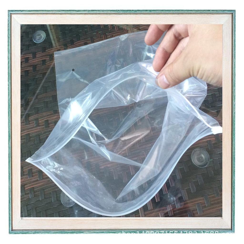 自封袋——超高清pe透明服装拉链袋