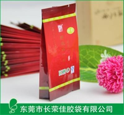 茶叶包装袋——酒红色款侧风琴铝箔茶叶袋