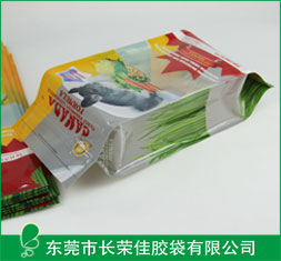 宠物食品包装袋——仓鼠宠物食品侧风琴袋