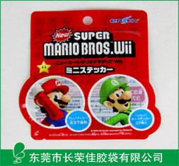 出口日本超级玛丽玩具异型袋