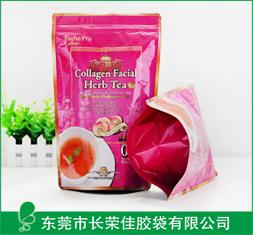 茶叶包装胶袋——美国花茶包装袋