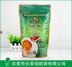 绿茶茶叶直立袋
